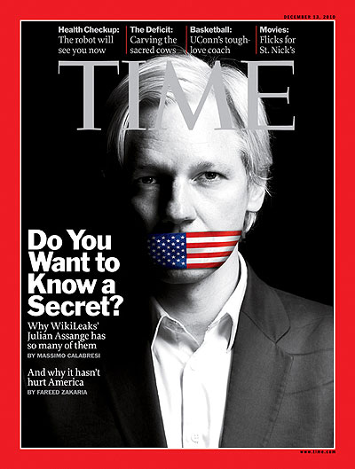 time mag cover 2010-12-13 Julian Assange