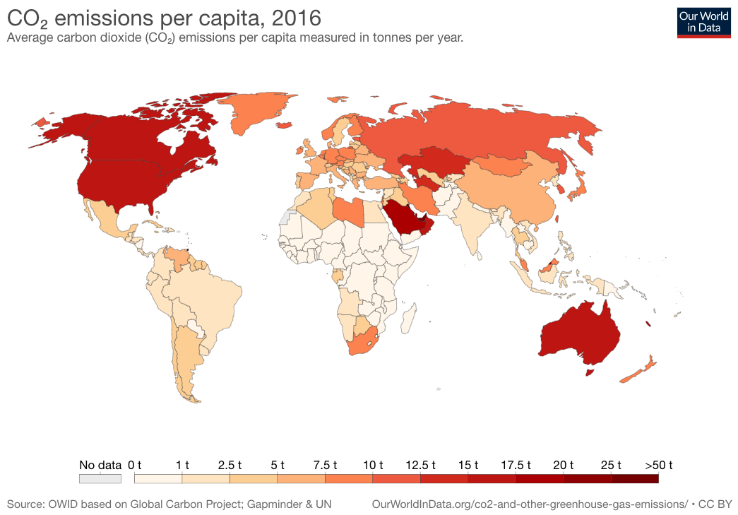 co2 per capita world map 2016 rpk7v