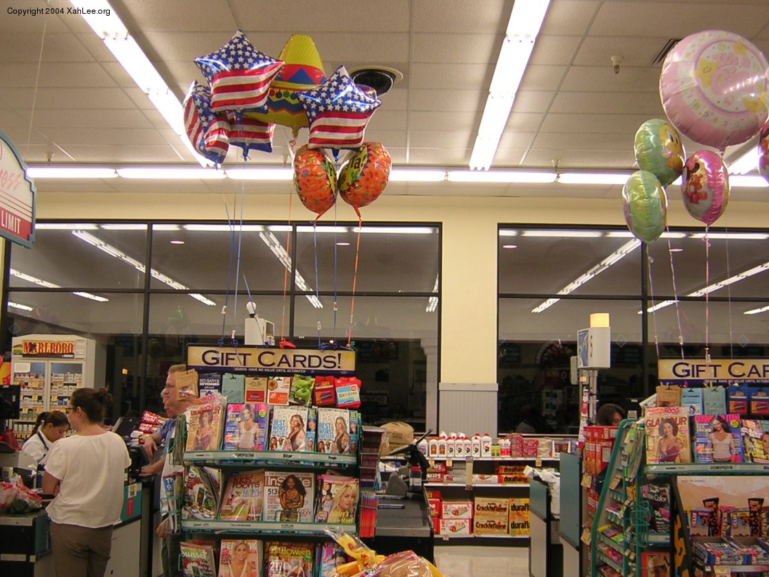 Star Spangled Supermarket Things