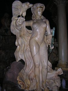 Artemis sculpture