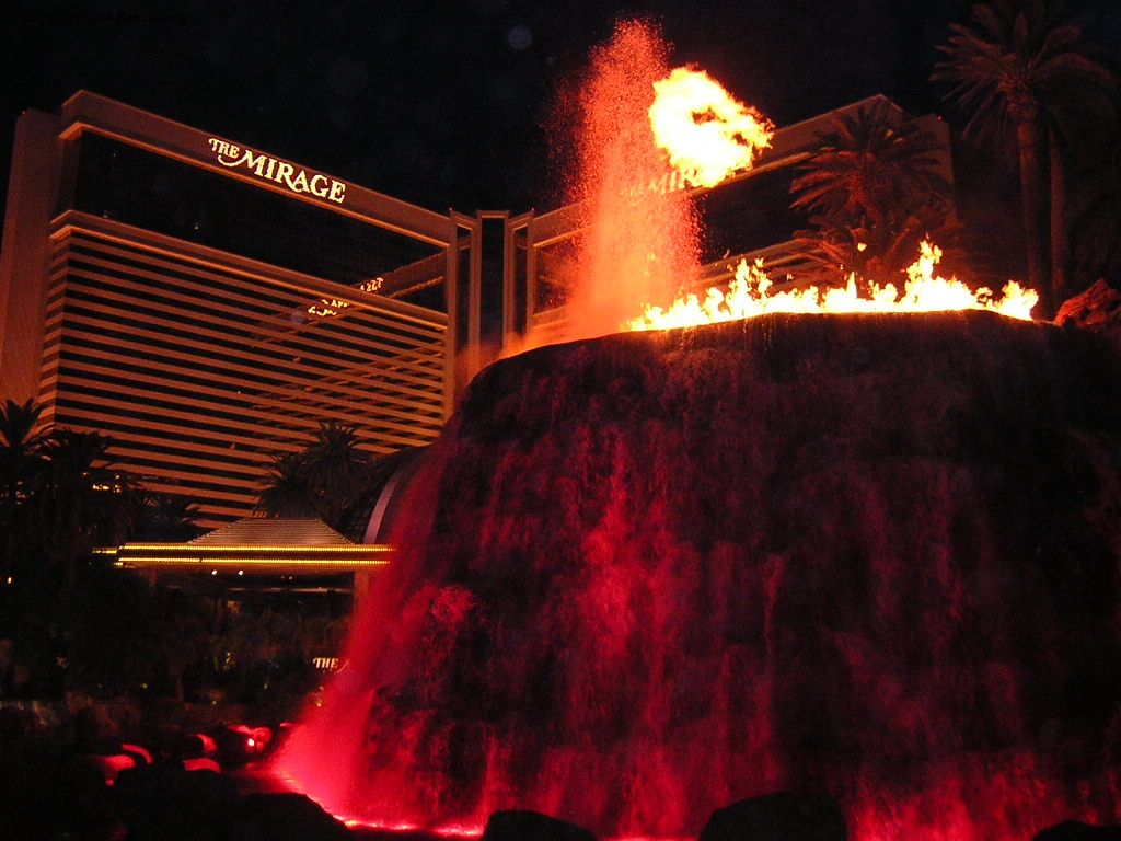 Las Vegas Travelog The Mirage Treasure Island