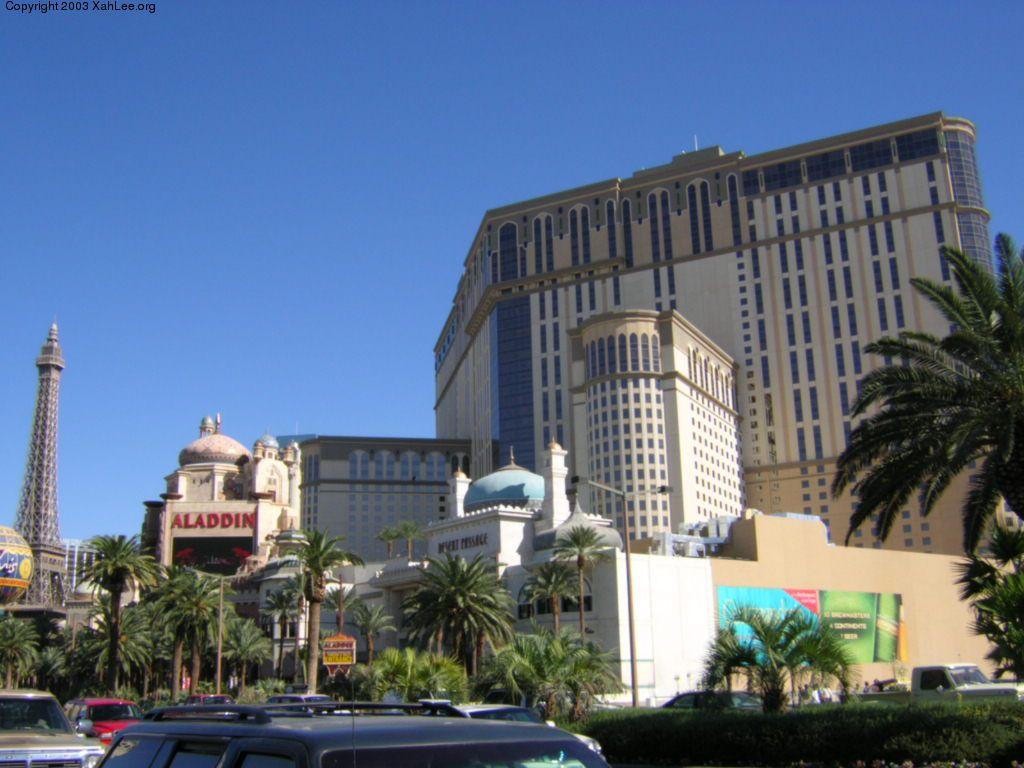 Aladdin hotel and casino las vegas
