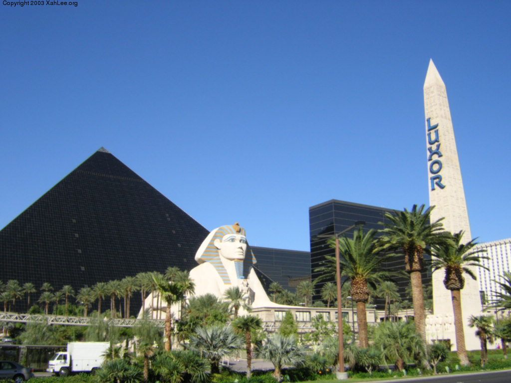 Las Vegas Travelog Luxor