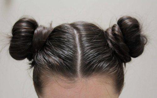 Double Bun Hair Girls