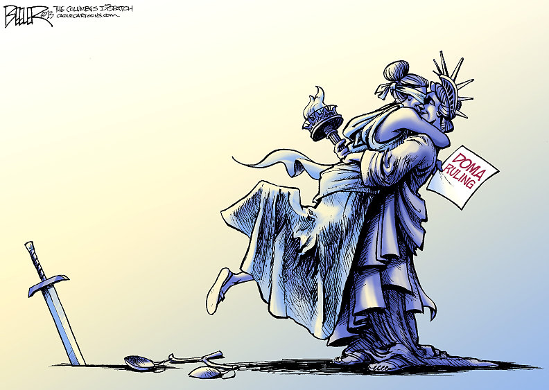 gay marriage ruling cartoon by Nate Beeler 2013-06-26